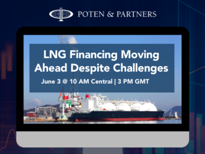 LNG Financing Moving Ahead Despite Challenges | June 3 Webinar